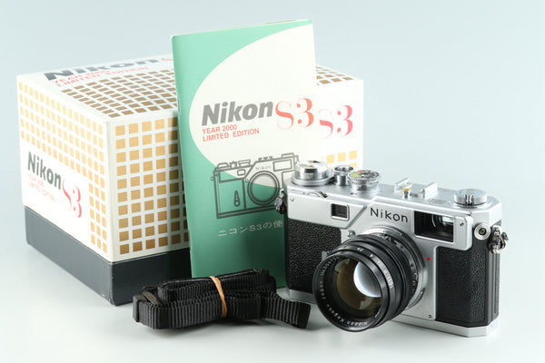 Nikon S3 Year 2000 Limited Edition + Nikkor-S 50mm F/1.4 Lens #31206L5