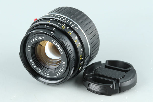 Minolta M-Rokkor 40mm F/2 Lens for Leica M #31289C2