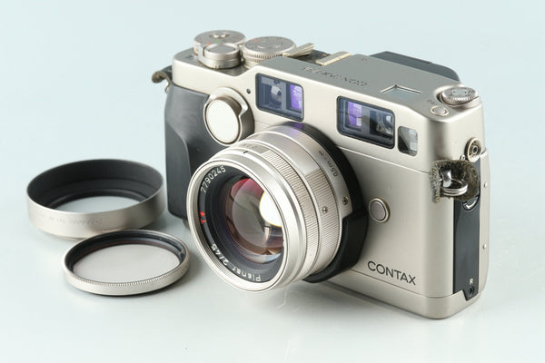 Contax G2 35mm Rangefinder Film Camera + 45mm F/2 Lens #31387E4