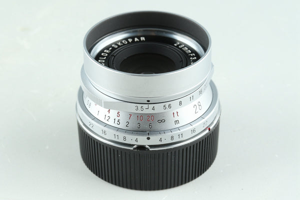 Voigtlander Color-Skopar 28mm F/3.5 Lens for Leica L39 #31440C2