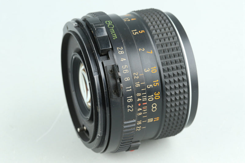 Mamiya-Sekor C 80mm F/2.8 Lens for Mamiya 645 #31598F5