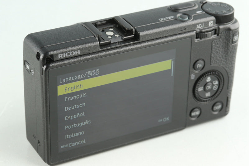 Ricoh GR III Digital Camera #31747E3