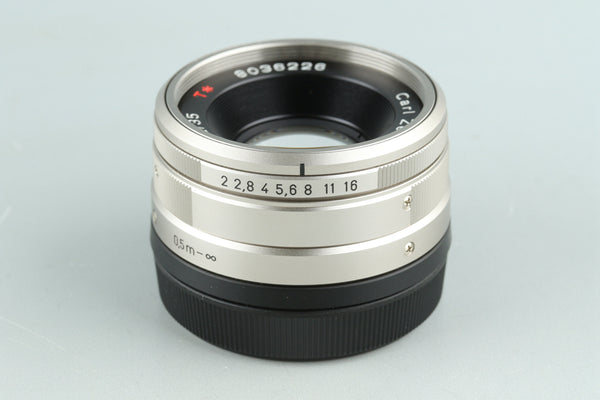 Contax Carl Zeiss Planar T* 35mm F/2 Lens for G1/G2 #31834A1