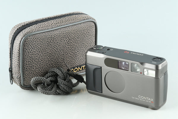 Contax T2 35mm Point & Shoot Film Camera Titan Black #31892D3