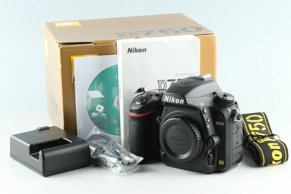 Nikon D750 Digital SLR Camera With Box *Shutter Count 10719*#31945F5