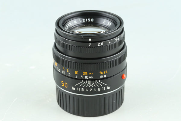 Leica Summicron-M 50mm F/2 E39 Lens for Leica M #31980C1