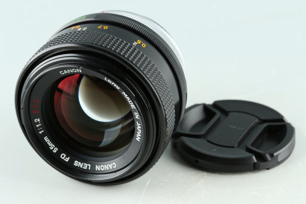 Canon FD 55mm F/1.2 S.S.C Lens #32055F4