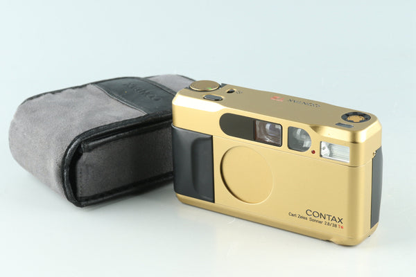 Contax T2 Gold 35mm Point & Shoot Film Camera #32139D3