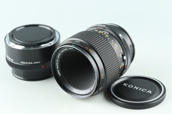 Konica Macro Hexanon AR 55mm F/3.5 Lens + Adapter #32166G41