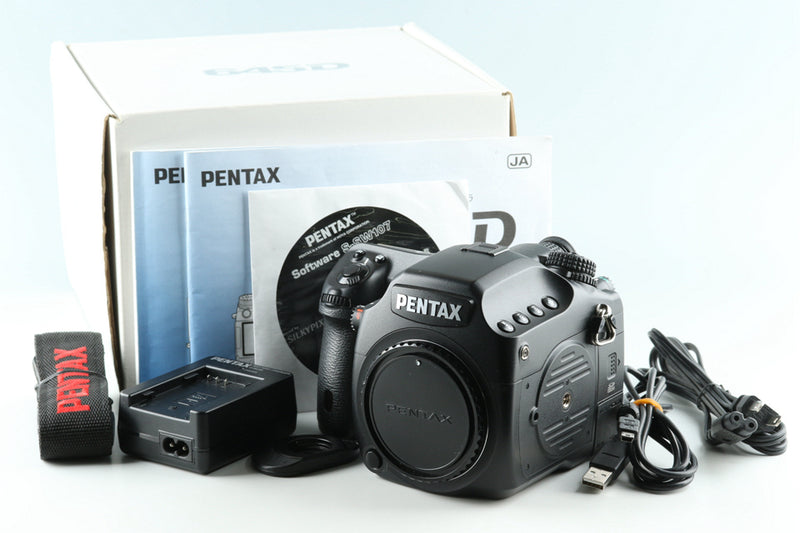 Pentax 645D Digital SLR Camera With Box #32194L10
