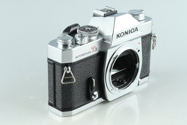 Konica T3 35mm SLR Film Camera #32209D3
