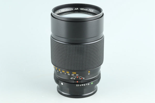 Konica Hexanon AR 135mm F/2.5 Lens for AR Mount #32227F4