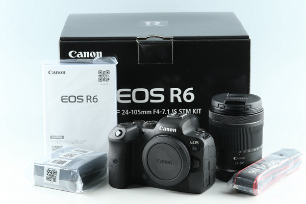 Canon EOS R 6 + 24-105mm F/4-7.1 Lens With Box #32297L