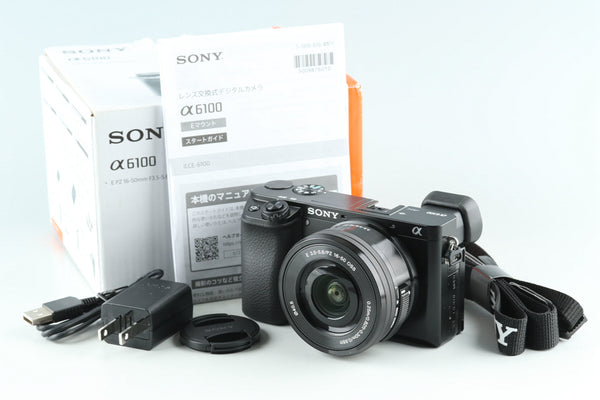 Sony α6100 / a6100 Digital Camera + 16-50mm *JP Language Only* #32337L2