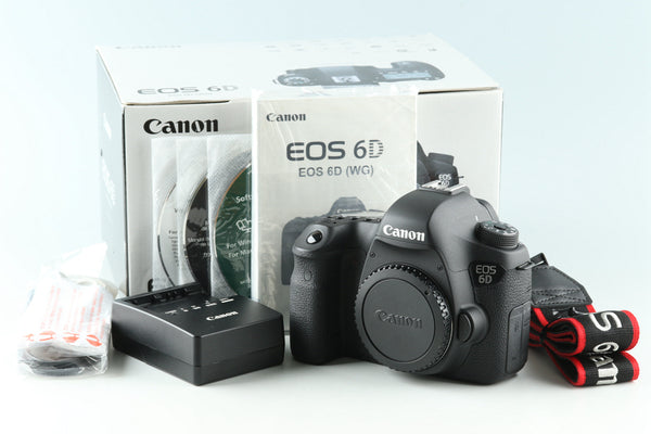Canon EOS 6D Digital SLR Camera With Box #32349L3