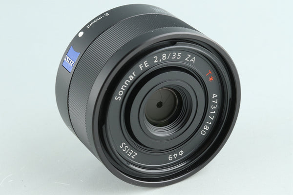 Sony Zeiss Sonnar T* FE 35mm F/2.8 ZA Lens for Sony E With Box #32350L2