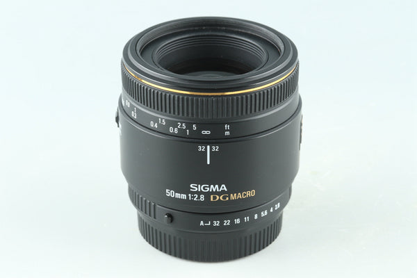 Sigma EX 50mm F/2.8 DG Macro Lens for Pentax K #32358F4