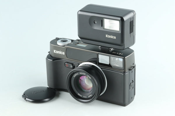 Konica Hexar 35mm Rangefinder Film Camera In Black #32359E2