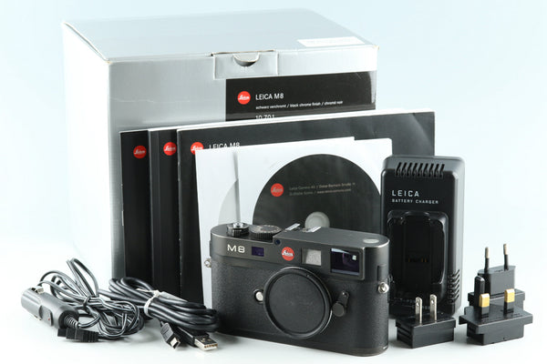 Leica M8 Rangefinder Digital Camera With Box #32529L