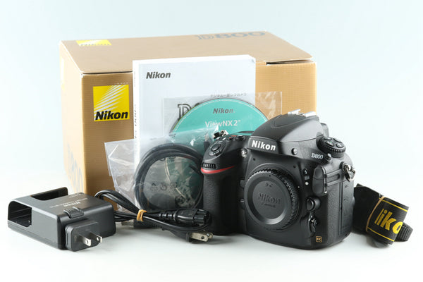 Nikon D800 Digital SLR Camera With Box #32531L5