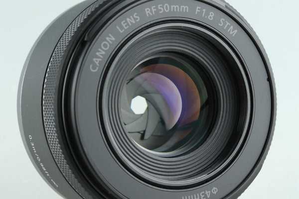 Canon RF 50mm F/1.8 STM Lens With Box #32533L3