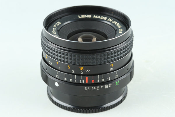 Konica Hexanon AR 28mm F/3.5 Lens for AR Mount #32668F4