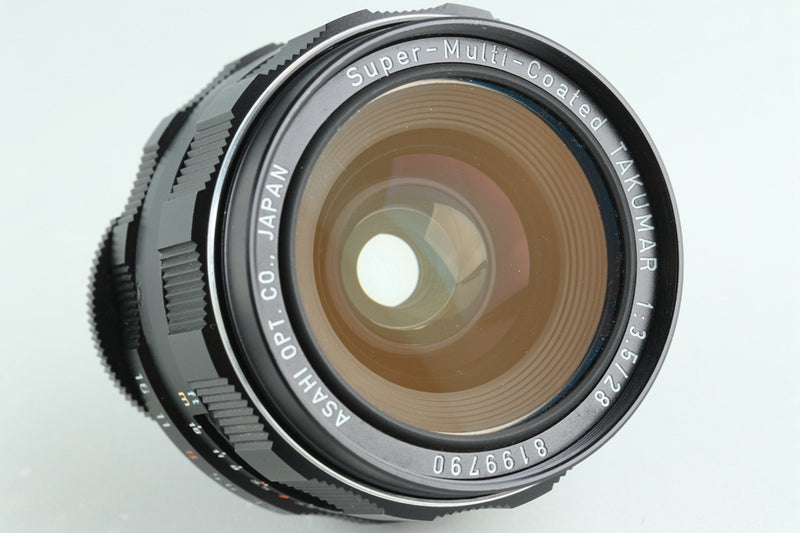 Asahi Pentax SMC Takumar 28mm F/3.5 Lens for M42 Mount #32674C3
