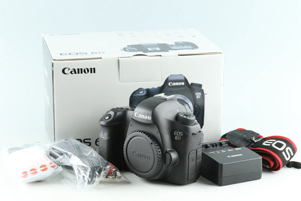 Canon EOS 6D Digital SLR Camera With Box #32703L3