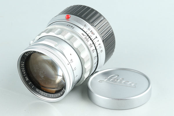 Leica Leitz Summicron 50mm F/2 Lens for Leica M #32713C1