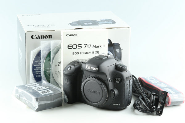 Canon EOS 7D Mark II Digital SLR Camera With Box #32717L3