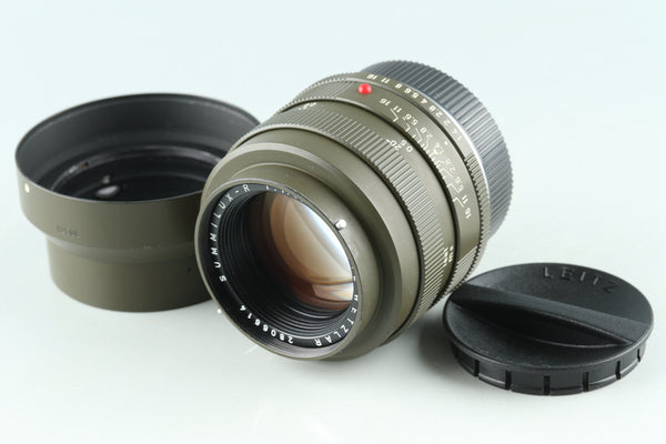 Leica Leitz Summilux-R Safari 50mm F/1.4 3-CAM Lens #32733C2