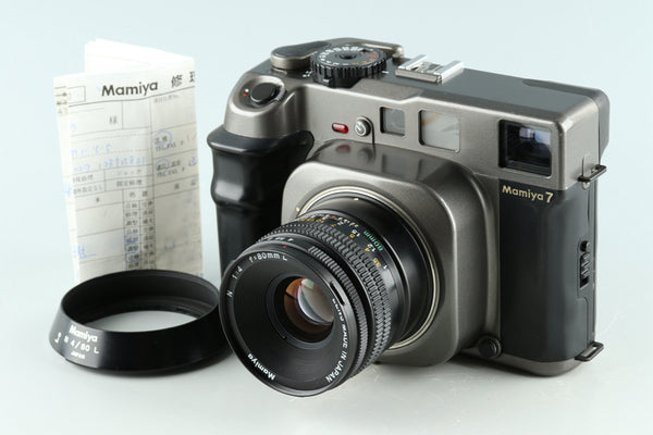 Mamiya 7 Medium Format Rangefinder Film Camera + N 80mm F/4 L Lens #32743E1