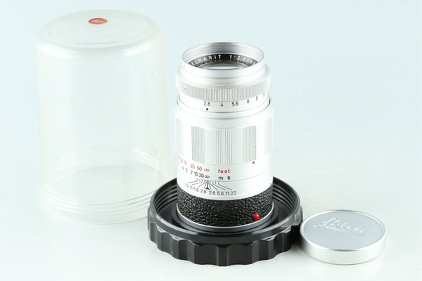 Leica Leitz Elmarit 90mm F/2.8 Lens for Leica M #32818E6