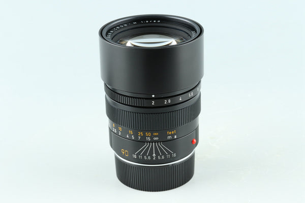 Leica Leitz Summicron-M 90mm F/2 Lens for Leica M #32853E6