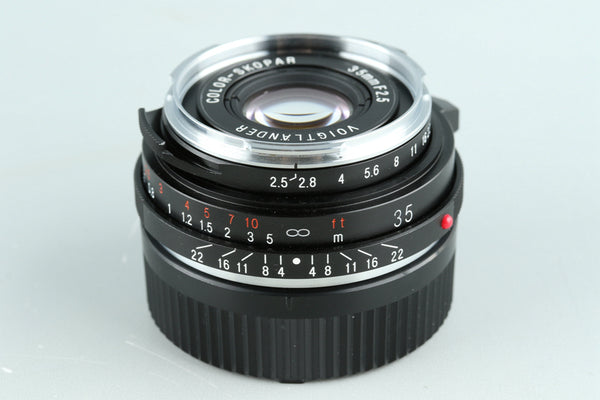 Voigtlander Color-Skopar 35mm F/2.5 Lens for Leica M #32859E6