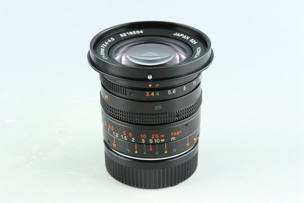 Konica M-Hexanon 21-35mm F/3.4-4 Dual Lens for Leica M #32891C2