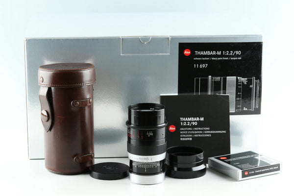Leica Thambar-M 90mm F/2.2 Lens for Leica M With Box #32912L1