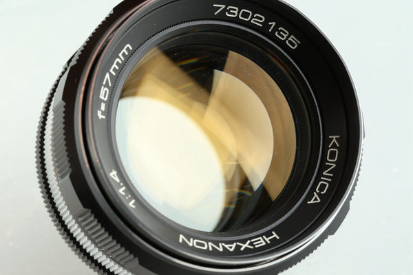 Konica Hexanon 57mm F/1.4 Lens for AR Mount #32993F4