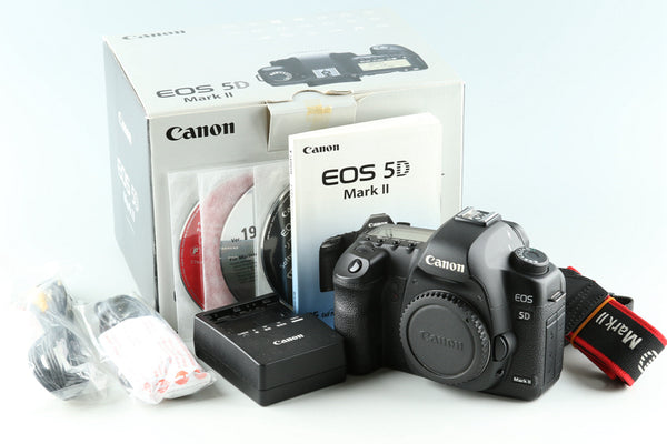 Canon EOS 5D Mark II Digital SLR Camera With Box #33035L6