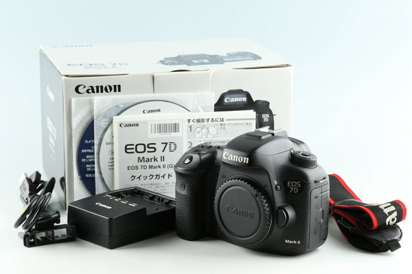 Canon EOS 7D Mark II Digital SLR Camera With Box #33043L3