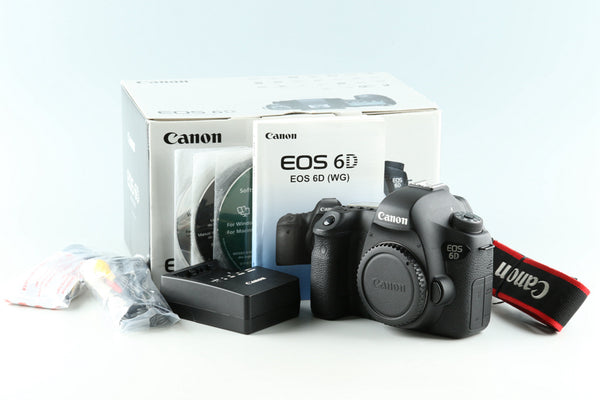 Canon EOS 6D Digital SLR Camera With Box #33049L3