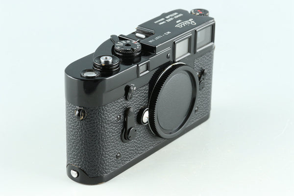 Leica M3 Repainted Black 35mm Rangefinder Film Camera #33052D1