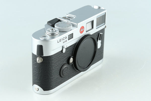 Leica M6 TTL 0.85 35mm Rangefinder Film Camera In Silver #33099D1