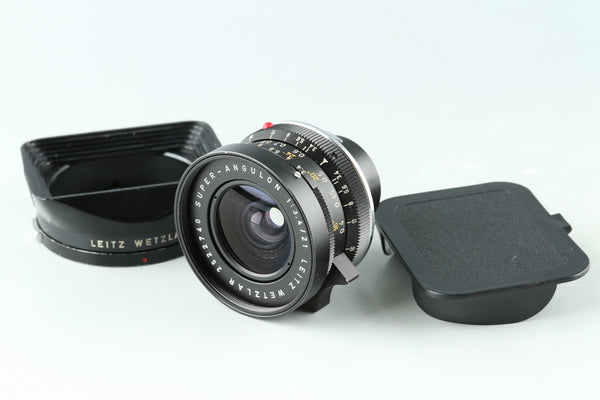 Leica Leitz Super-Angulon 21mm F/3.4 Lens for Leica M #33102C1