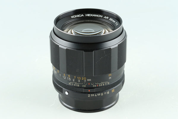 Konica Hexanon AR 35mm F/2 Lens for AR Mount #33114F4