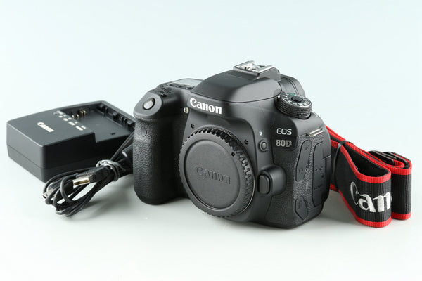 Canon EOS 80D Digital SLR Camera #33118E2