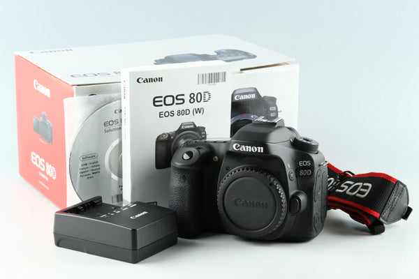 Canon EOS 80D Digital Camera With Box #33121 L