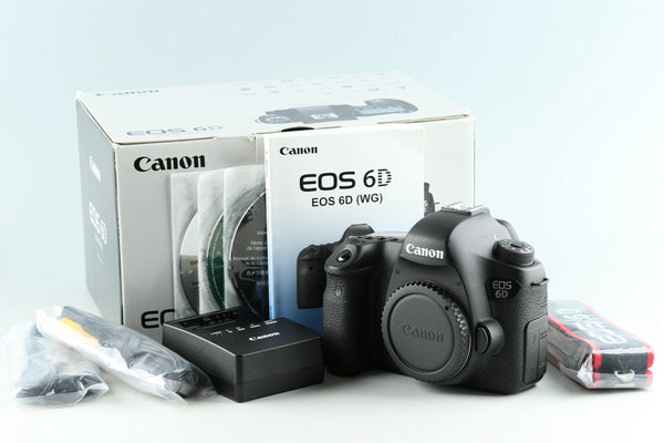 Canon EOS 6D Digital SLR Camera With Box #33122L6