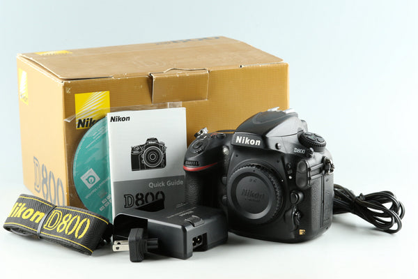 Nikon D800 Digital SLR Camera With Box #33129L5