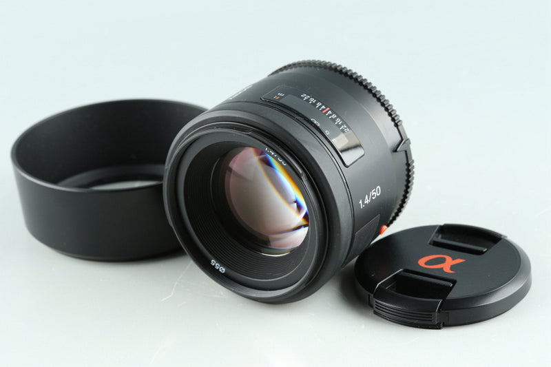 Sony 50mm F/1.4 Lens for Sony AF #33216F4